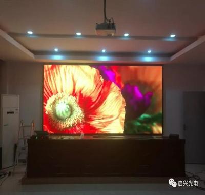 武汉启兴光电承制--LED全彩显示屏八套交付使用