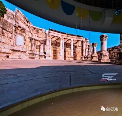 武汉启兴光电承制--黄陂区XX幼儿园室内Q3全彩显示屏交付使用!